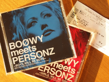 PERSONZ - BOOWY meets PERSONZ
